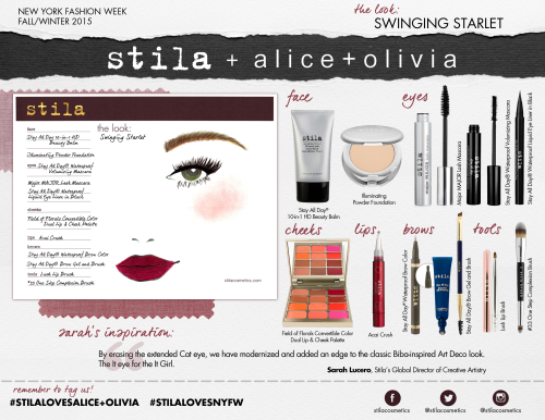 Alice + Olivia Stila Cosmetics 3