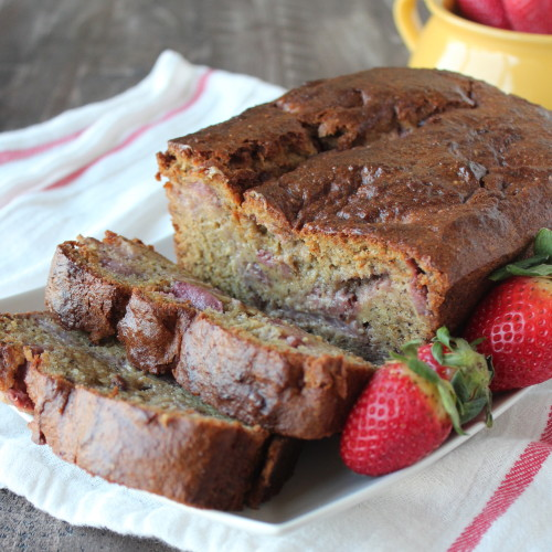 Strawberry Banana Bread Gluten Free