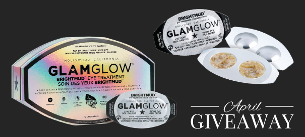 GLAMGLOW BRIGHTMUD EYE TREATMENT GIVEAWAY