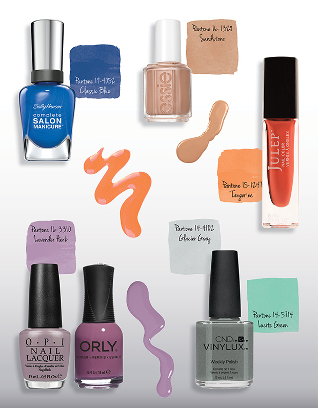 Best Spring Nail Polish Colors - Pantone Inspired
