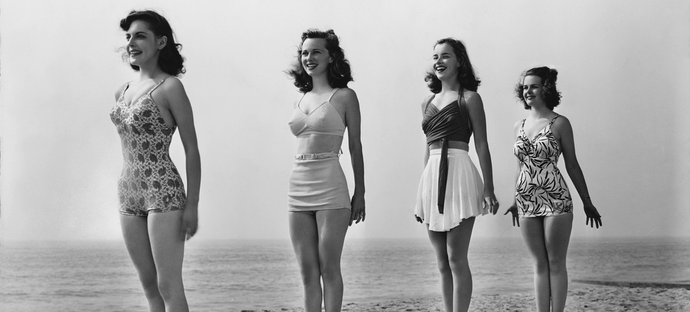 The History of the Shrinking Swimsuit