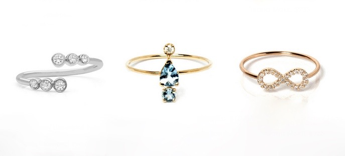Nontraditional Engagement Rings Under $1000