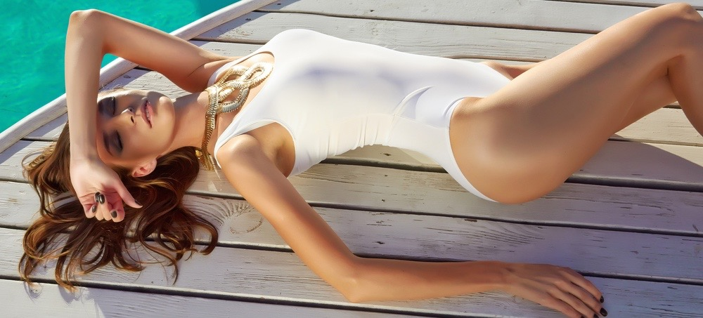 10 White Swimsuits That Aren't See-Through