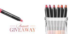 glo Minerals Cream Glaze Lip Crayons – August 2015 VIP Giveaway