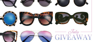 10 Sunglasses Styles You Need this Summer – July 2015 VIP Giveaway