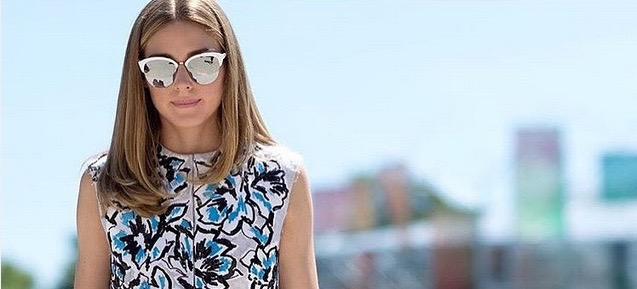 7 Times Olivia Palermo Pulled Off Tricky Prints (And How You Can Too)