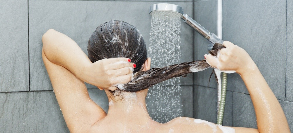 This Shower Product May Be Causing Your Forehead Acne