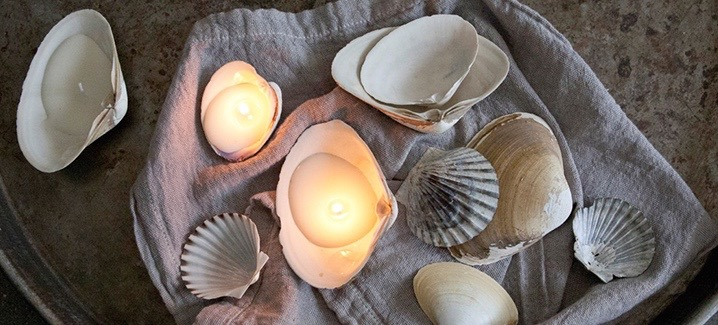 The Sweetest DIY Seashell Candles To Make This Summer
