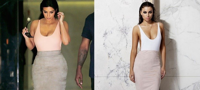 Get Kim Kardashian's Style On A Budget With This Line