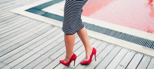 The Trick To Walking In Heels Without Pain