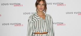 LFW SS16 - Louis Vuitton Series 3 Exhibition Launch Party - Arrivals