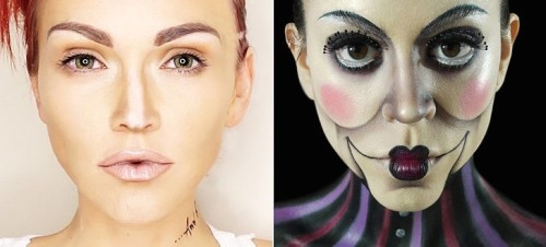 Makeup-Only-Halloween-Costumes