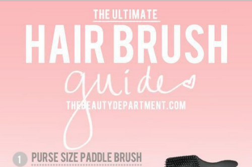 hairbrush guide