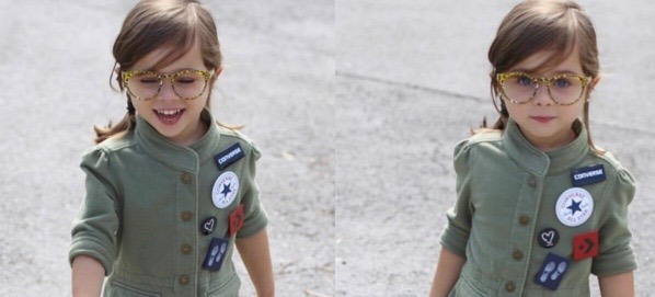 Cuteness Overload: 3-Year-Old Guess Model Ava's Instagram Account