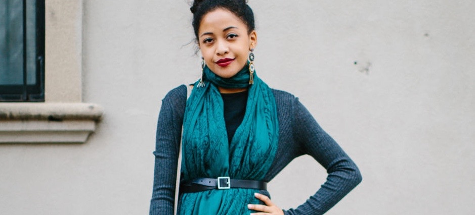 4 Chic Ways To Style A Scarf + Belt