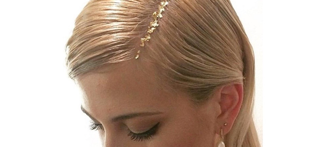 Gold Leaf: The Ultimate Holiday Hair Hack