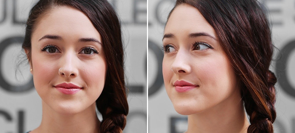 Before And After: Makeup That Survives Sweaty Workouts
