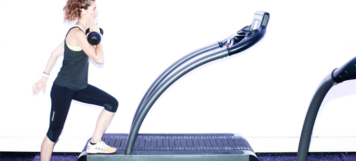 Get A Full-Body Workout On The Treadmill With 7 Exercises