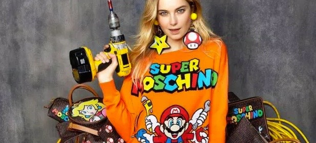 OMG, Yes: Moschino's Super Mario Collection