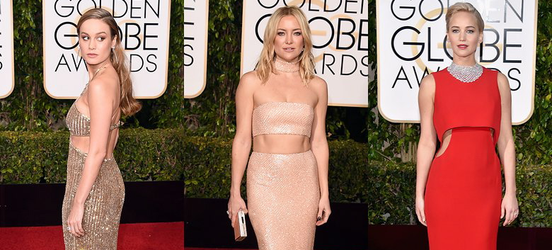2016 Golden Globes: The Top Beauty And Fashion Trends