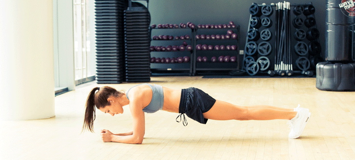 Kayla Itsine's Ab And Arm Chiseling Workout