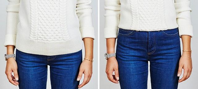The Short Girl Sweater Hack You Need Now