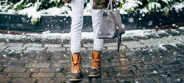 How To Make Duck Boots Look Chic