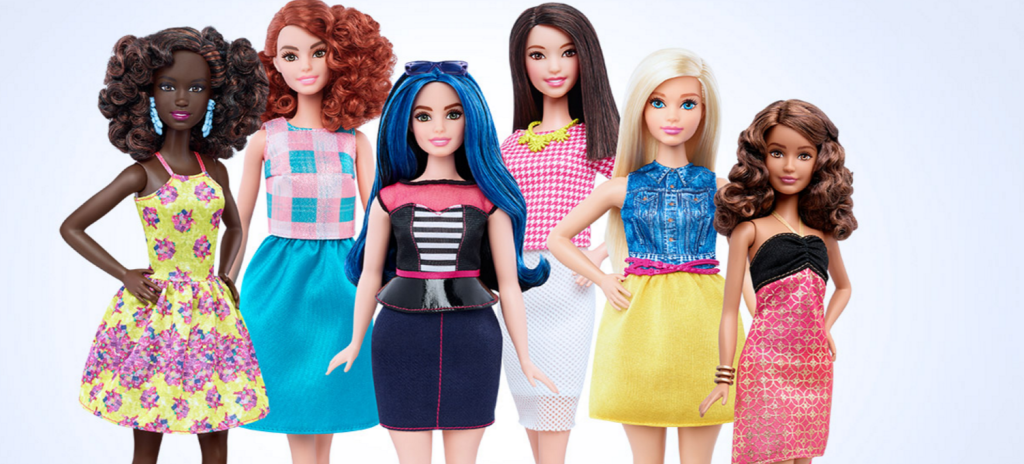 Barbie Finally Gets A Makeover: 3 New Body-Positive Types