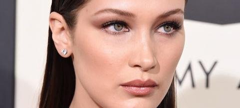 The Brilliant Way Bella Hadid Faked Bigger Lips With Silver Eyeshadow