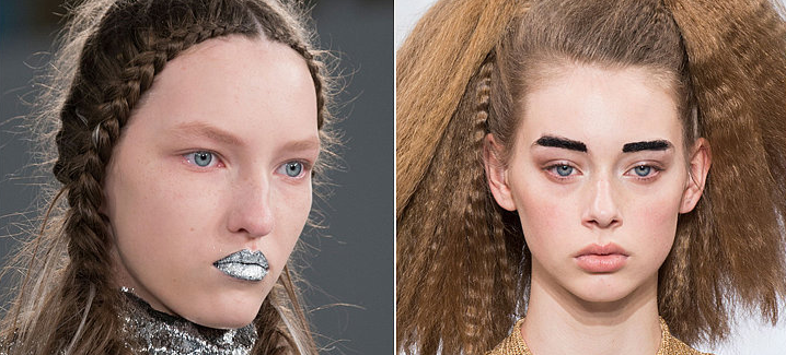 12 Futuristic Beauty Looks From Haute Couture Fashion Week
