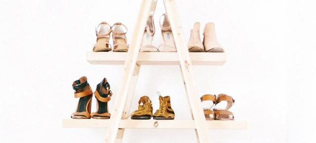 The Clever DIY Way To Store Your Shoes
