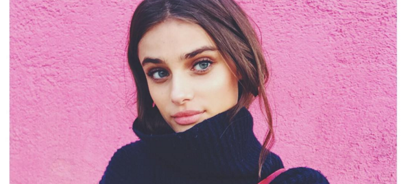 Taylor Hill's Easy Trick To Staying Warm And Looking Hot