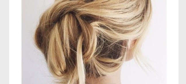 The Easiest Updo In Existence