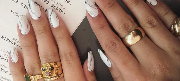 The New Nail Art Trend That Totally Rocks