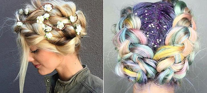 25 Stunning Updos To Rock During Festival Season