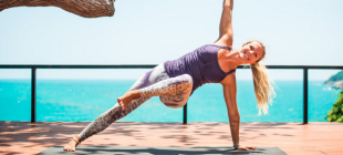 Stress Down, Tone Up: 9 Yoga Exercises For Your Legs, Arms, And Core